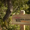 Shrine Trail Entrance Sign