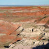 View from the casita, the Painted Desert