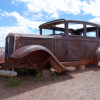 Old car on Route 66