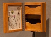 Scrub Blazing Star Shrine Box - inside
